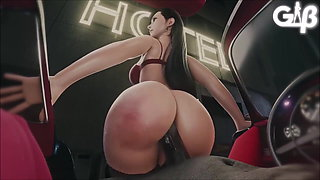 Tifa Lockhart (FF7 remake) loves pleasing cocks