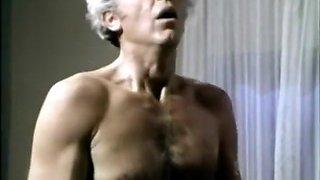 Silver Granddad fucks hairy pussy
