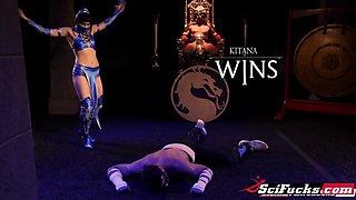 SciFucks. Mortal Kombat XXX Parody