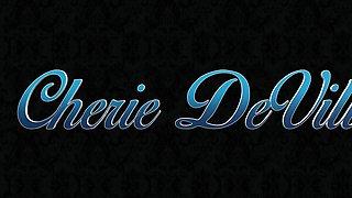 Cherie Deville masturbating for her stepson in heels