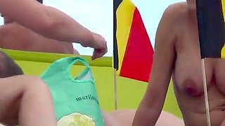 Incredible Nudist Cap Agde french 2015 Beach Part2