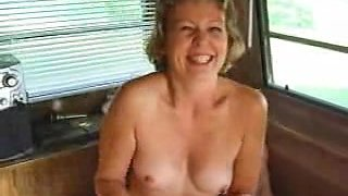 Swingers filming their dirty actions in a bus