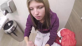 Russian teen cutie Gina Gerson gets offered for some quick
