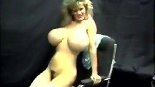 huge tits secretary getting naked