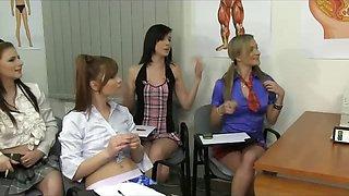 School Teacher Enjoys CFNM experience