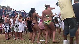 Fabulous pornstar in crazy blonde, group sex adult scene