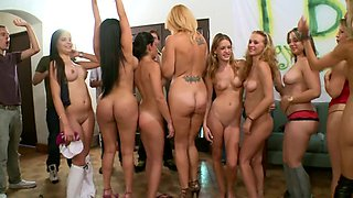 Super hot college orgy with some of the finest porn stars around