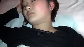 Very Gorgeous Korean Sister Fucked While Sleeping On Cam