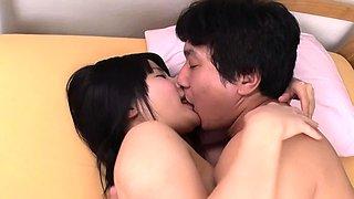 JAVHUB Japanese girl Ami Oya licked and fucked