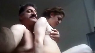 Cheating Arab Secretary Fucked by Her Boss
