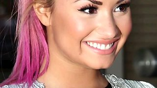 Demi Lovatovs Vs India Eisley Rd 1 jerk off challenge