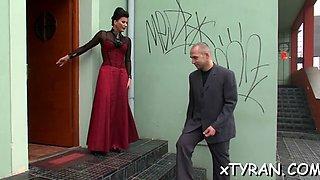 naughty girl gets spanked bdsm movie 1