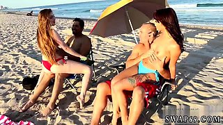 Real daddy fucks ally' boss's daughter xxx Beach Bait And Sw