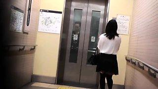 Asians peeing in toilet
