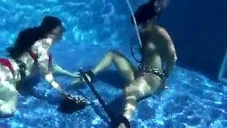 Underwater Scuba Breathplay