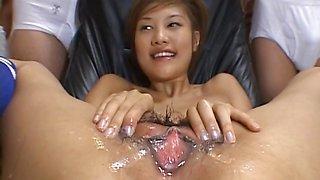 Azusa Ayano Asian milf gets a massive