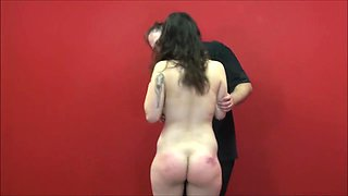 Phobia play of submissive Beauvoir in electro BDSM