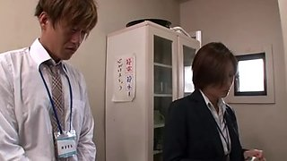 censored asian mature office manager sex