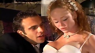Hot Young Bride Has All Three Holes Filled