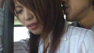 Hikari Hino in Female Teacher Chikan Bus