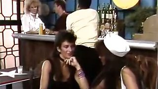 Retro girl from the bar 69 fucking
