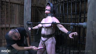 Old bitch with chubby body Femcar gets punished and humiliated in the BDSM room