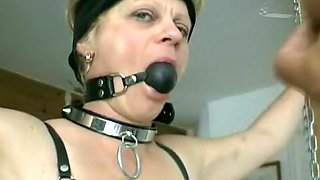 Exotic homemade Blonde, BDSM sex scene
