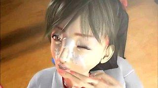 After School Girl JK 3D