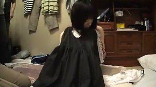 Fabulous Japanese model Mion Kawakami in Amazing Small Tits, Gangbang JAV video