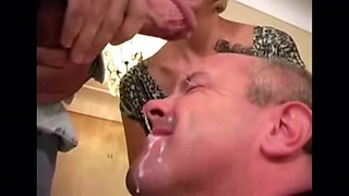 Wow cock sucking fantasy becomes reality!