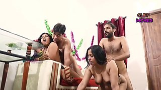 INDIAN FRIEND WIFE SWAPPING HOMEMADE VIDEO