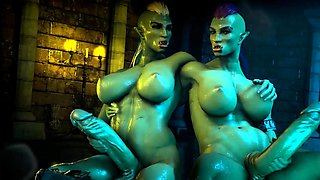 Compilation of 3D Whores from Video Games