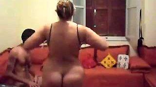 Having sex with my milf chubby Arab wife on webcam