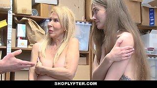 Erica Lauren  Samantha Hayes in Case No. 5584216 - Shoplyfter