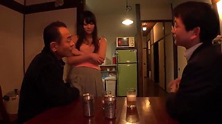 Japanese Chick Trained By Father In Law