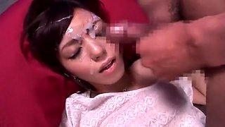 Amazing Japanese whore Aino Kishi in Horny Threesomes, Swallow/Gokkun JAV clip