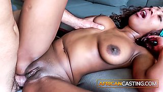 Best African interracial anal compilation