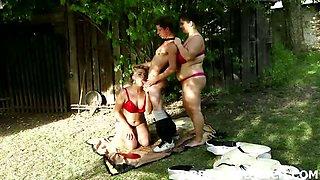 BBW femdom with Czech dominatrixes