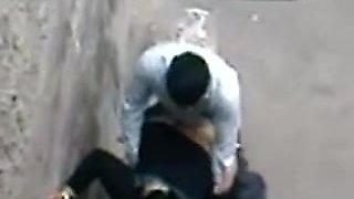 Arab Hijab Housewife Caught Whoring