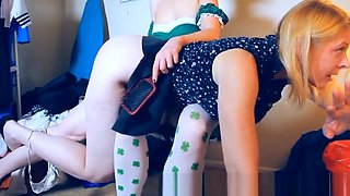 St Patrick&rsquo s day spanking