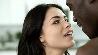 Young British Wife Loves Big Black Cock