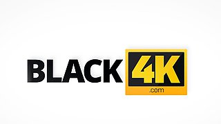 BLACK4K. Sweet young lady meets BBC at student's camp...