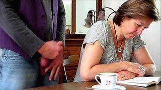 Crazy Amateur clip with Brunette, Grannies scenes