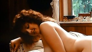 Fabulous redhead sensual babe boned with a big dick on the couch