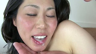Incredibly horny Japanese nurse Fujiko Sakura gets treated with DP