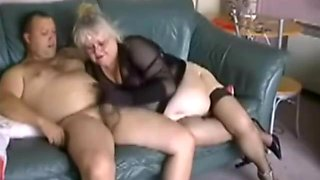 Slut fat granny having fun