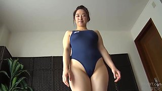 Swimming Instructor Busty Big Ass Sister Mio Hカップパイパン巨乳t゙カ尻お姉さん