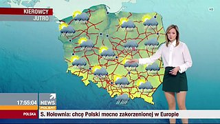 Milena rostkowskagalant polish weather girl