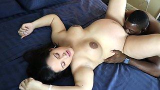 Pregnant Teen Lexxi Fucked by BBC