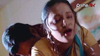 Indian aunty enjoying